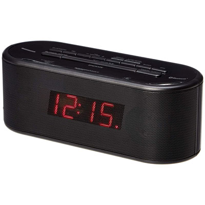 #1. AmazonBasics Digital Alarm Clock with USB Port