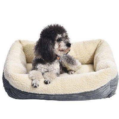 9. AmazonBasics Plush Self-Warming Extra-Small Non-Electric Pet Comfortable Cat Dog Bed