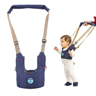 #3. Casa Baby Walking Assistant Trainer Harness Walking Helper- Blue