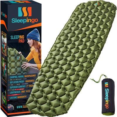 7. Sleepingo Sleeping Pad for Backpacking and Hiking