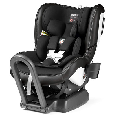 1. Peg Perego Convertible Infant Car Seat, Licorice