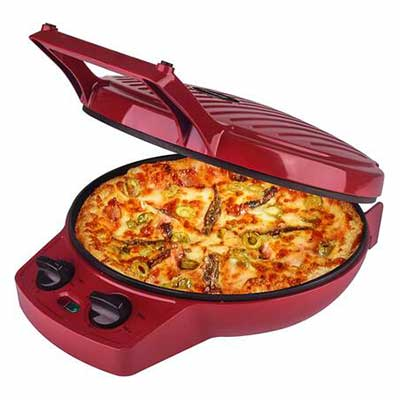 #10. Courant Pizza Maker with Timer and Temperatures control