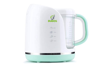 #9. Burbos Smart 4-in-1 High-end Functions BPA-free Dishwasher Safe Baby Food Makers
