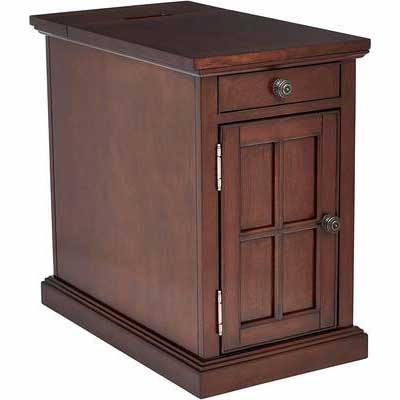 1. Ball & Cast Dark Brown Durable Crafted From Wood Sophisticated Touch Side/End Table