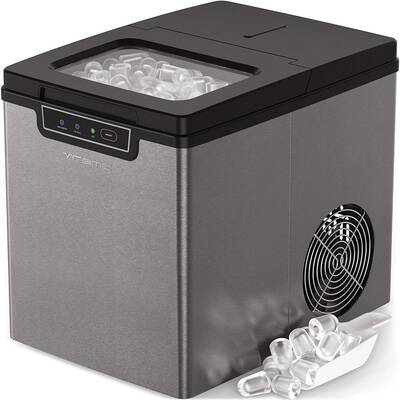 #10. Vremi Countertop Ice Maker- Ice Cubes Ready in 9 Mins