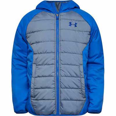 5. Under Armour Zipper Closure 100% Polyester Big Pronto Boys' Puffer Winter Jacket