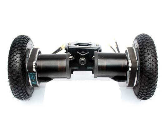 #8. L-faster Off Road Electric Skateboard 4 Wheel Longboard 11 Inch Truck