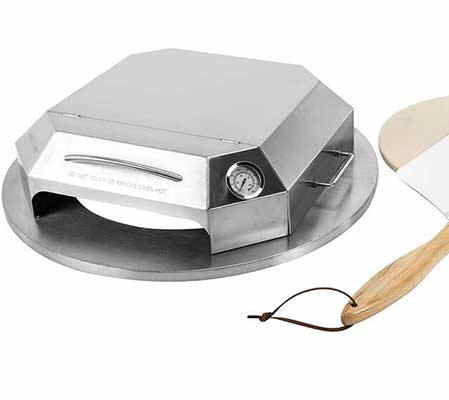 #6. only fire Pizza Oven Kit - Stainless Steel