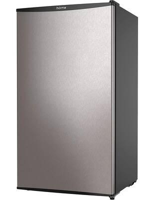 #2. hOmeLabs 3.3 Cubic Ft. Under Counter Removable Glass Shelves Chiller Compartment Mini-Fridge