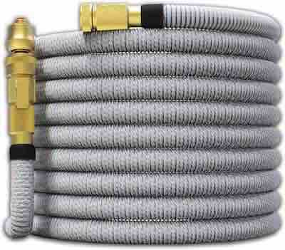 #1. TITAN 100 ft. Dual Latex Core Jet Nozzle & Washers All New Flexible Water Hose