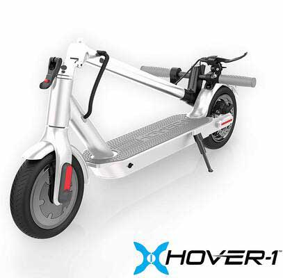 #3. Hover-1 Journey 8.5Inch Tires 300W Motor UL 2272 Certified 14MPH Electric Folding Scooter