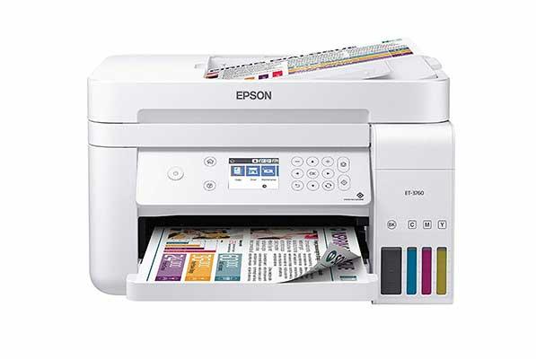 #5. Epson EcoTank ET-3760 All-in-one Cartridge Free SuperTank Printer