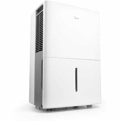 #7. MIDEA MAD50C1ZWS Dehumidifier 70 pint with Reusable Filter