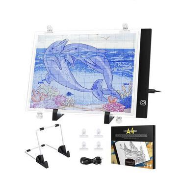 8. Magicfly Diamond Painting Light Pad with USB Cable