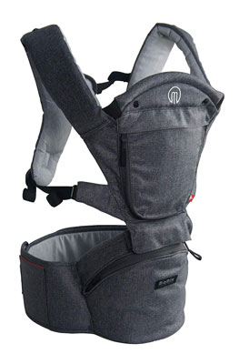 1. MiaMily Hipster Smart Hiking Backpack Ergonomic Baby Carrier