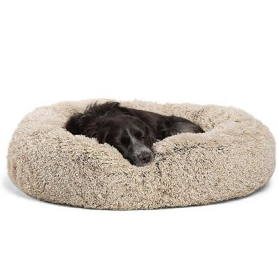 3. Best Friends Sheri Self-Warming Machine Washable Calming Donut Multiple Sizes Pet Bed