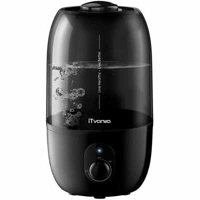#6. iTvanila Cool Mist Humidifier, Lasts Up to 28 Hours