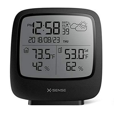 #10. X-Sense Digital Wall Clock