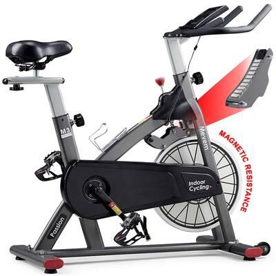 #2. MEVEM Indoor Cycling Bike Belt Drive Indoor