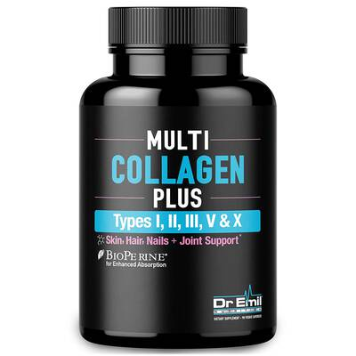 #4. DR EMIL NUTRITION 90 Capsules Collagen Peptide Absorption Enhancer Grass-Fed Collagen Protein