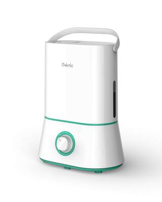 #3. iTeknic Cool Mist Humidifier, Ultra Quiet and Easy to Clean