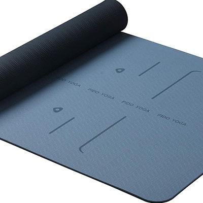 9. WWWW PIDO SGS Certified Non-Slip Exercise Mat Yoga Mat