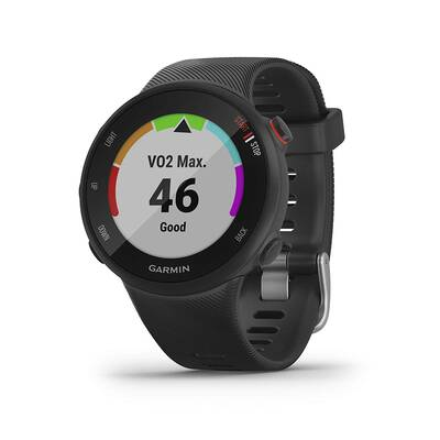 #4. Garmin Easy to Use Forerunner 45 with Coach Free Training Plan GPS Running Watch (Black)