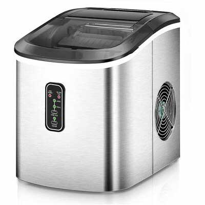 #7. Euhomy Ice Maker Machine Countertop