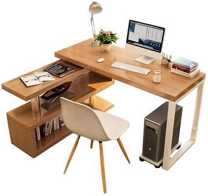 8. CDTO Multi-Purpose Computer Desk Home Office Writing L-Shaped Workstation