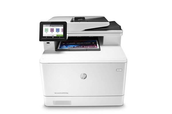 #4. HP Color LaserJet Pro Multifunctional M479fdw Wireless Laser Printer