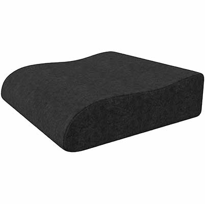 9. Bonmedico Ergonomic Wedge Raiser Booster Memory Foam Seat Cushion for Home & Office