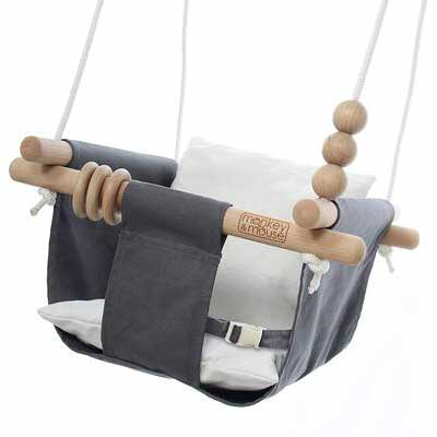 2. Monkey & Mouse Hanging Swing Seat