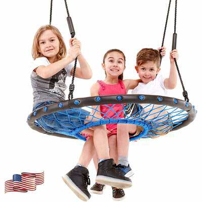 1. Smartsome Spider Web Tree Swing for Indoor and Outdoor Use