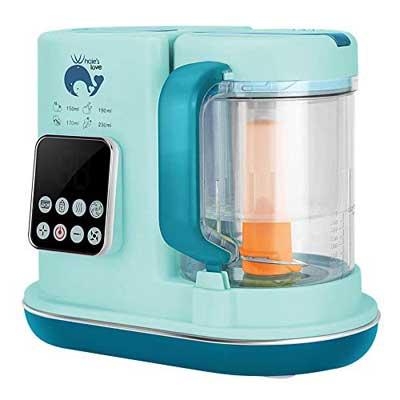 #8. Whale's Love Multi-function Food Maker Blender & steamer for Infant & Toddler