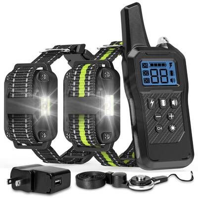 #3. FunniPets Dog Training Collar for 2 Dogs
