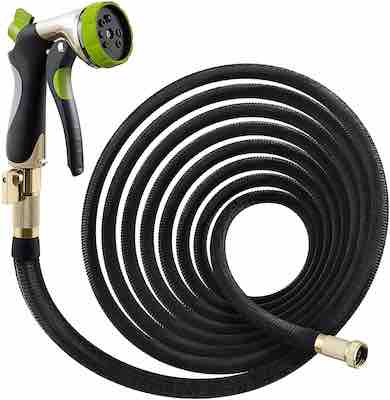#7. Nifty Grower 50 ft. Double Latex Core Extra-Strength Fabric Expanding Water Hose