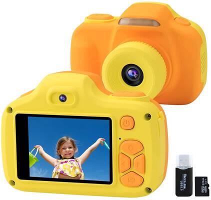 5. JOYTRIP Yellow 12MP Selfie HD Kids' Camera for Boys & Girls for Children Age 3 – 9 Yrs.