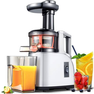 #9. AMZCHEF Slow Masticating Juicer with a Quiet Motor - BPA Free