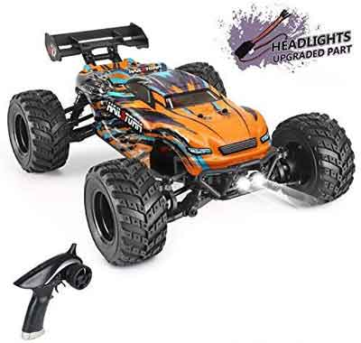 #5. HAIRBOXING 1:18 Scale 4WD 36+km/h 2.4 GHz All-Terrain Hobby Off-Road RC truck for Adults & Kids