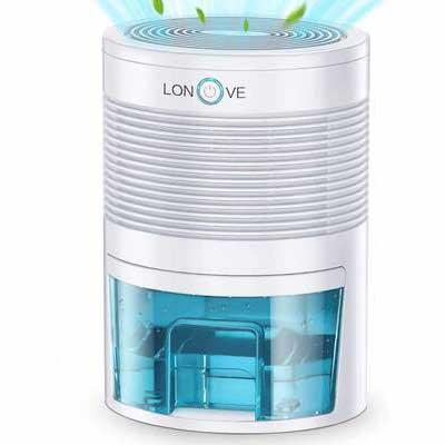#10. LONOVE Dehumidifier-2000 Cubic Feet