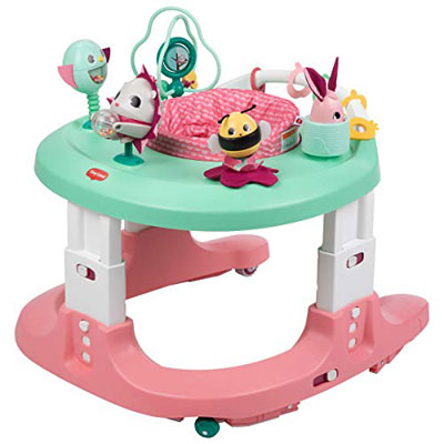 #1. Tiny Love Baby Push Walker and a Mobile Activity Center