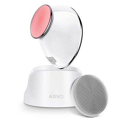 8. Aevo 6X Deeper Facial Cleaning Brush with Detachable Silicone Head for Men and Women