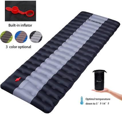 9. YSXHW Self Inflating Camping Pads- Ultralight, Compact and Waterproof