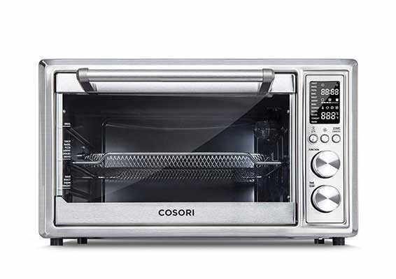 #3. COSORI CO130-AO 12-in-1 30L Convection Toaster with Rotisserie & Dehydrator Oven (Silver)