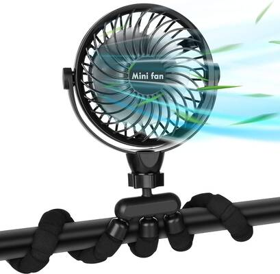 4. COMLIFE Portable Handheld Fan with a Flexible Tripod