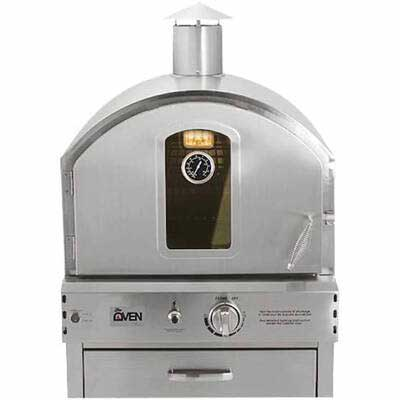 #1. Summerset Outdoor Built-in Gas Oven w/ Pizza Stone, 304 Stainless Steel Construction