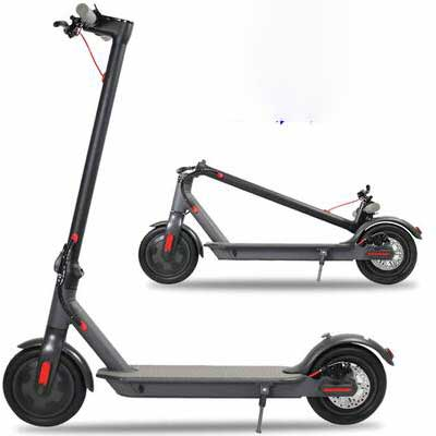 #8. Eamaxusa 350W 15.8MPH Up to 16MPH Motor Speed UL Certified Electric Scooter for Adults