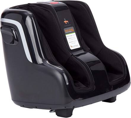 #2. Human Touch Patented Technology Reflex5s Foot & Calf Massager Perfect for Relaxation