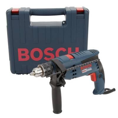 #2. The Bosch 1191VSRK-RT 1/2 Inch 7 amp Corded Hammer Drill (Renewed)