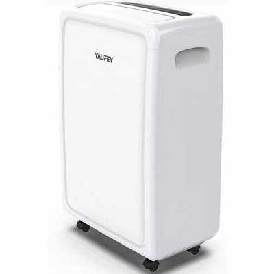 #6. Yaufey 4500sq.ft Home Dehumidifier 70 Pint